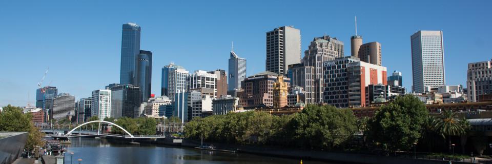 Melbourne … der erste Tag